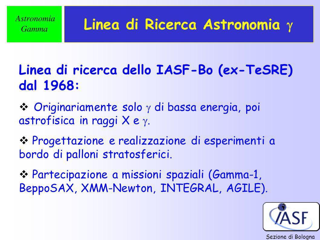 Linea di Ricerca Astronomia 