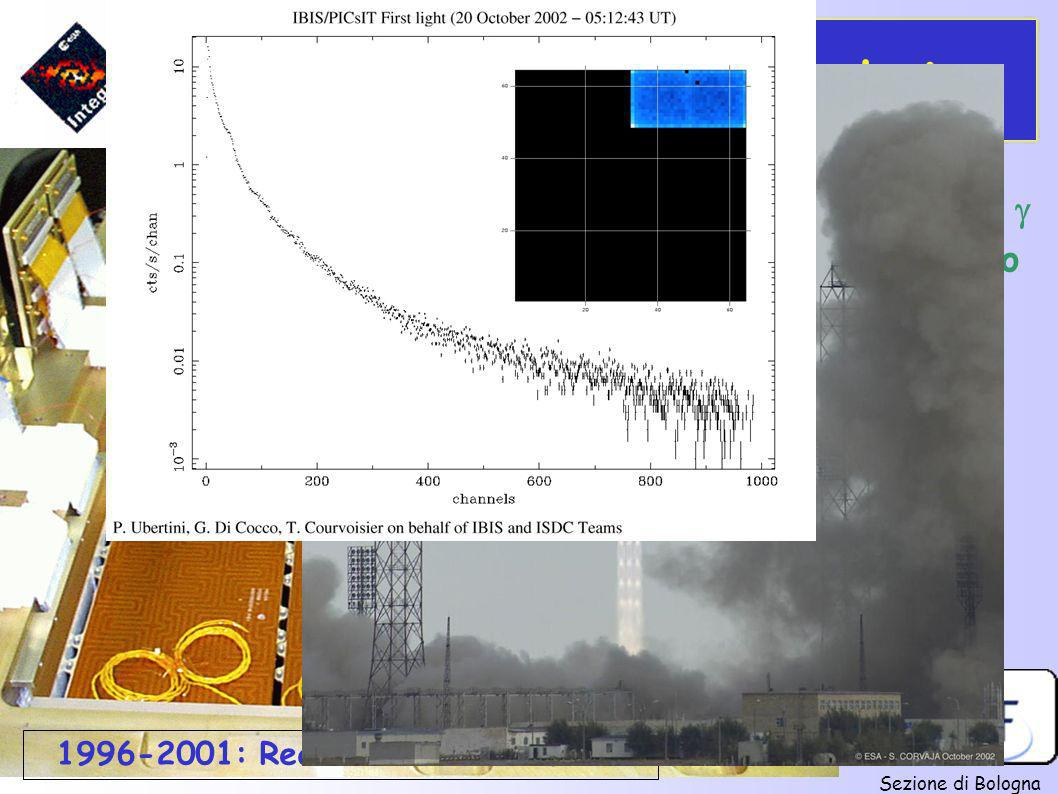 17-X-'02: Lancio da Baikonour 1996-2001: Realizzazione strumenti