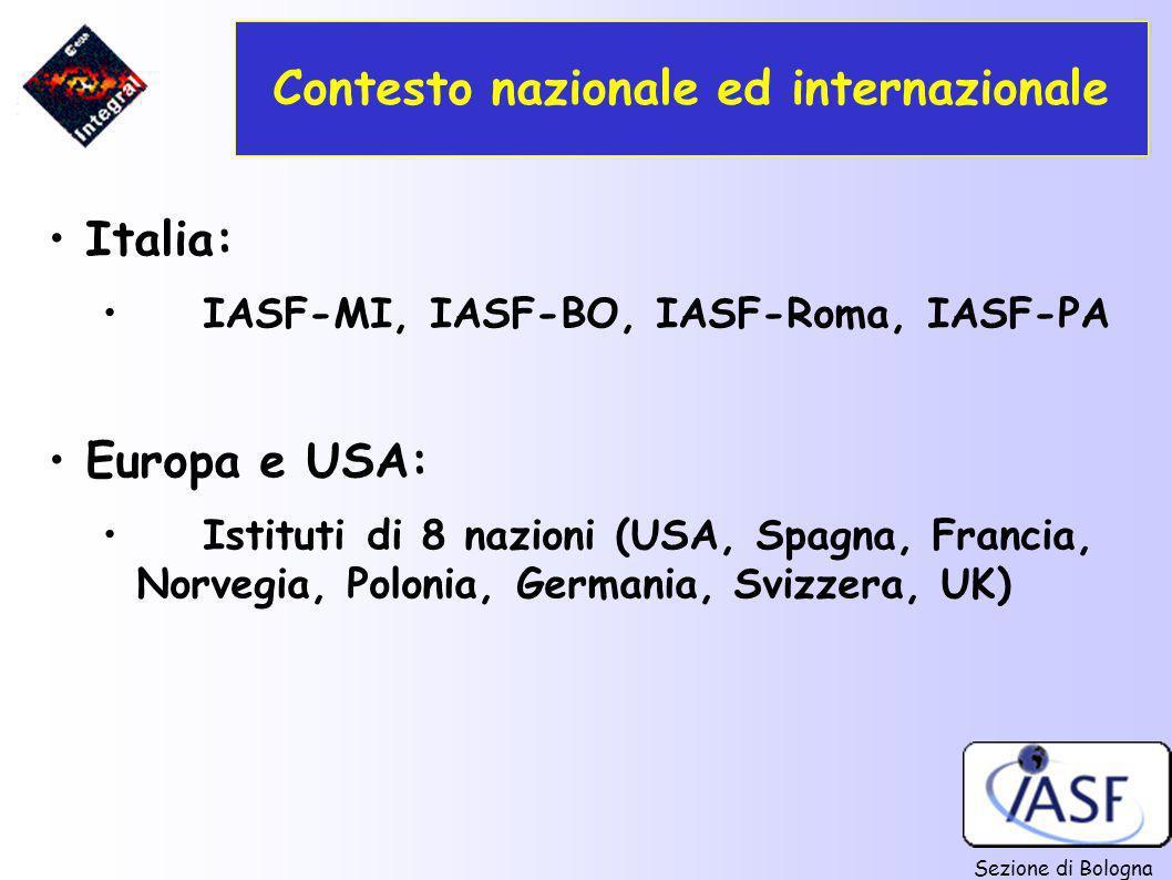 Contesto nazionale ed internazionale