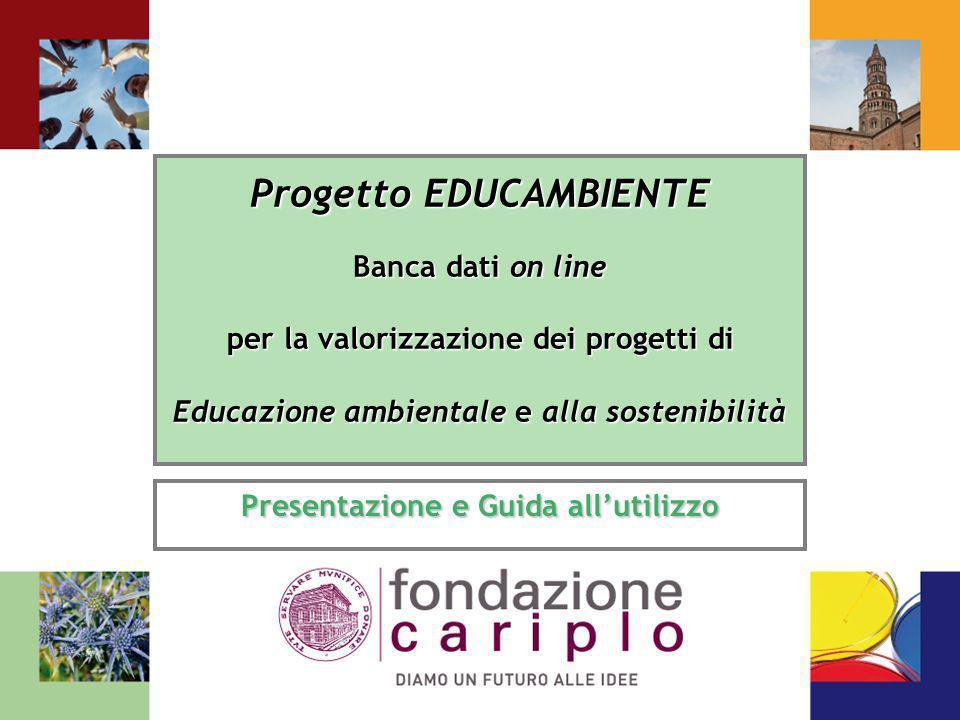 Progetto EDUCAMBIENTE