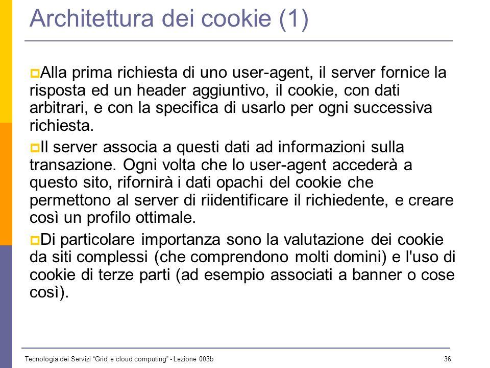 Architettura dei cookie (1)