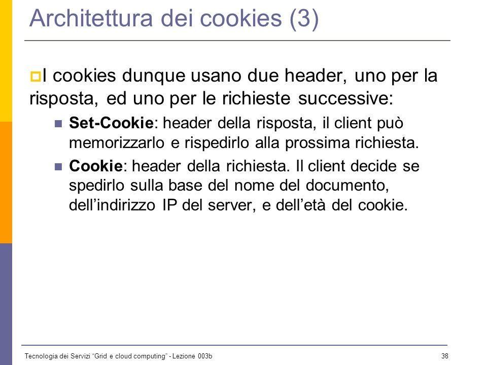 Architettura dei cookies (3)