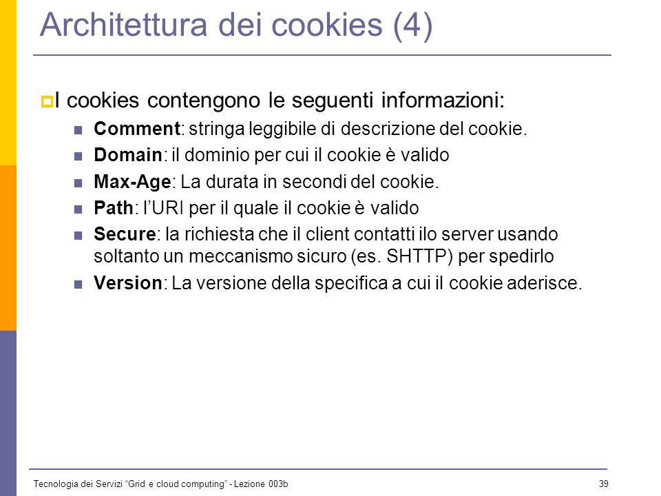 Architettura dei cookies (4)