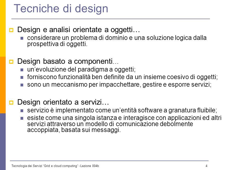 Tecniche di design Design e analisi orientate a oggetti…