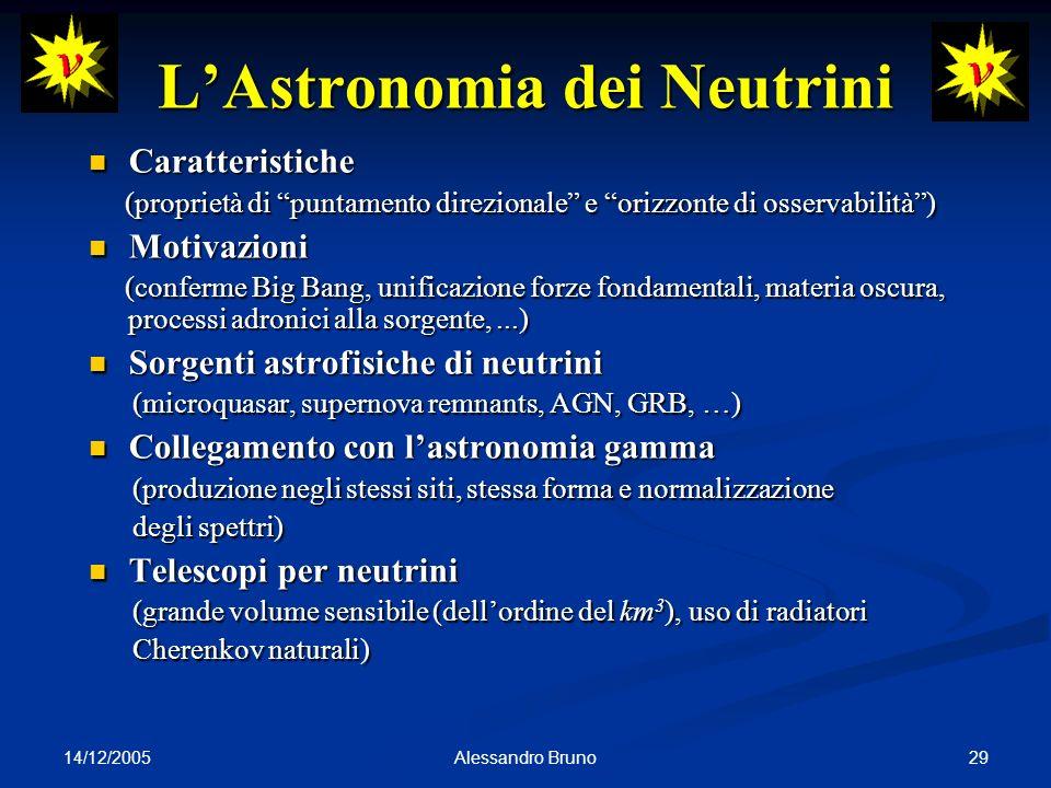 L'Astronomia dei Neutrini