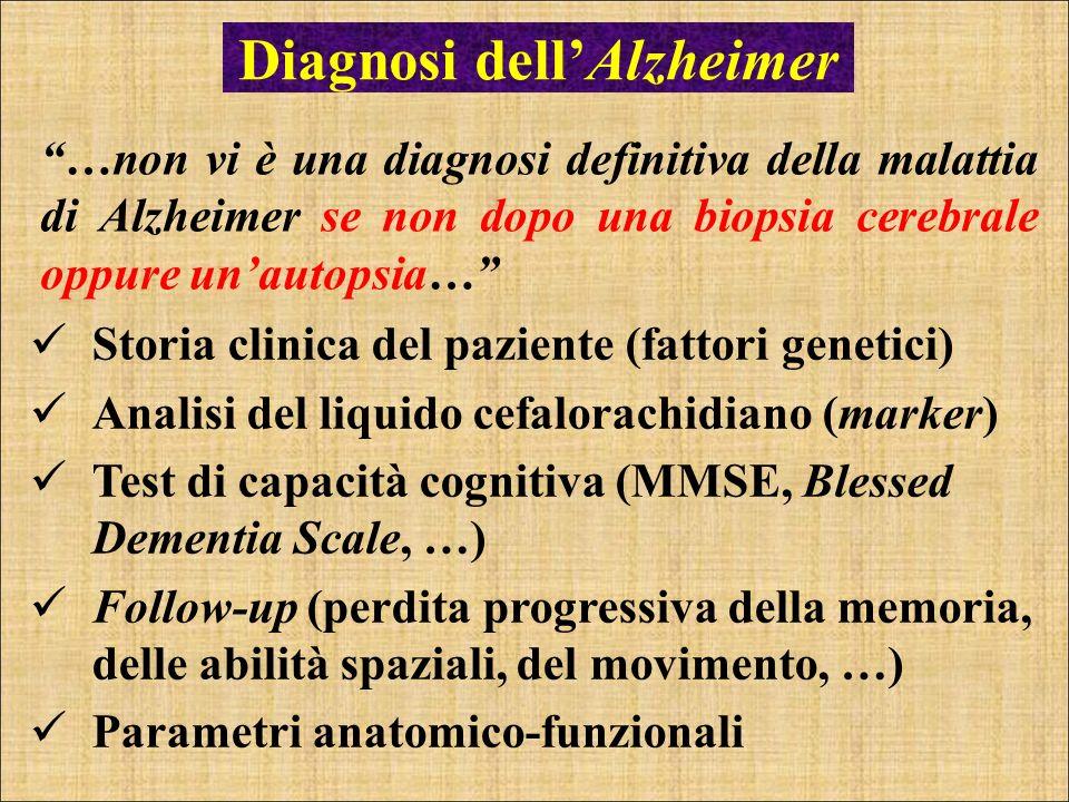 Diagnosi dell'Alzheimer