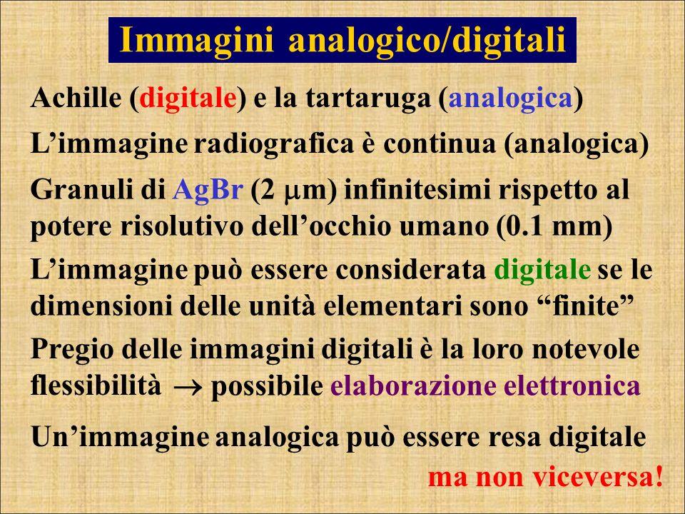 Immagini analogico/digitali