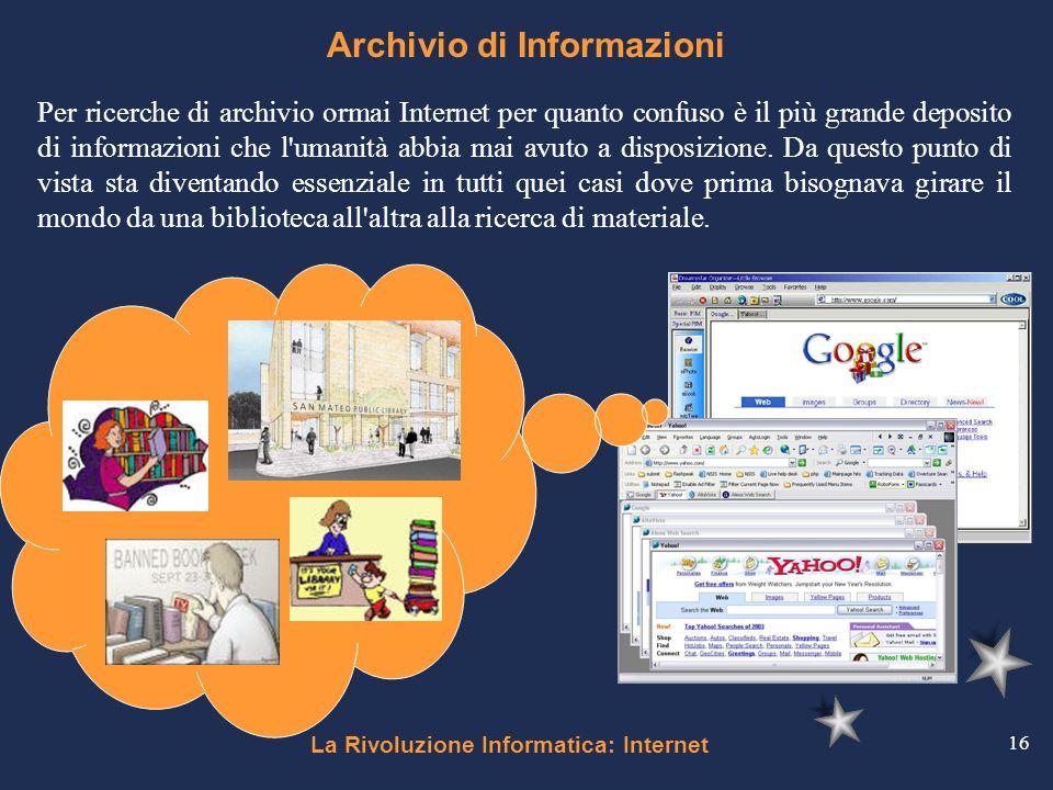 Archivio di Informazioni