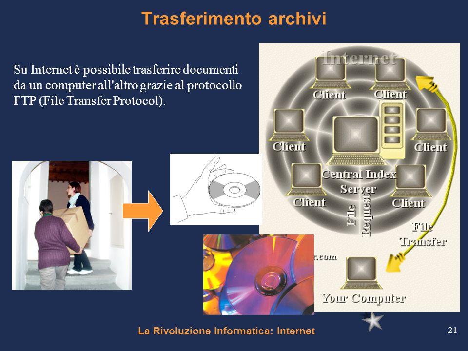 Trasferimento archivi