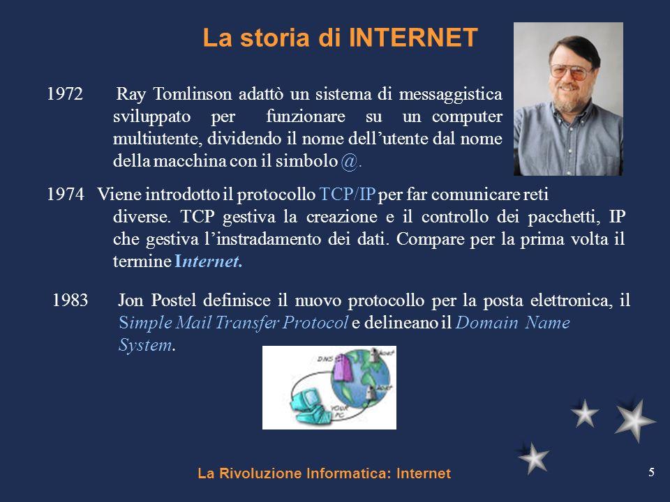 La rivoluzione informatica internet ppt video online for 2 pacchetti di garage di storia