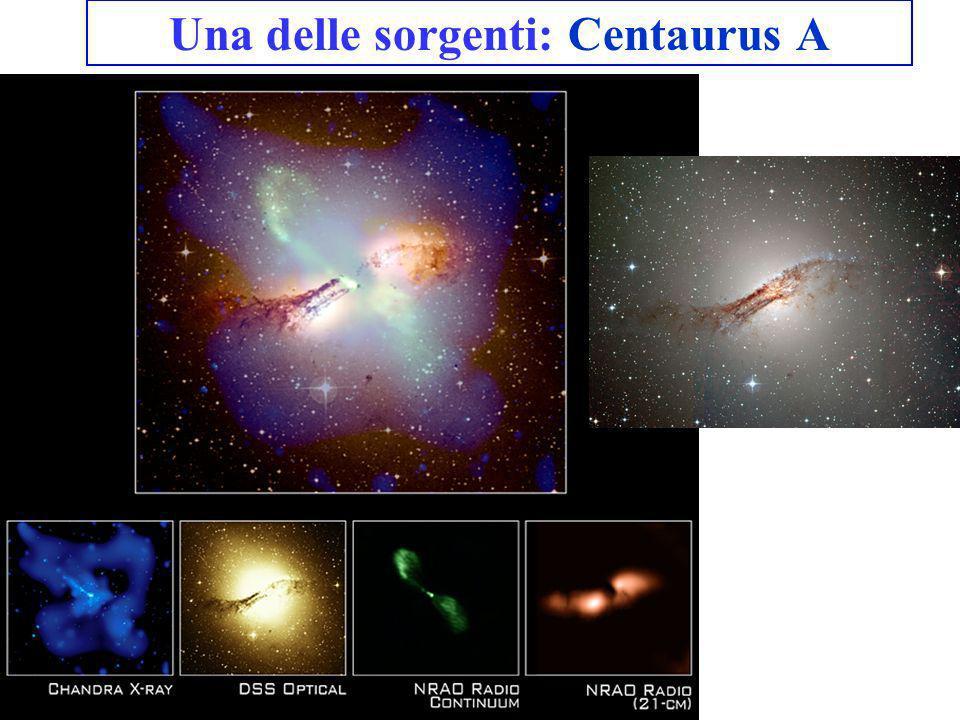 Una delle sorgenti: Centaurus A
