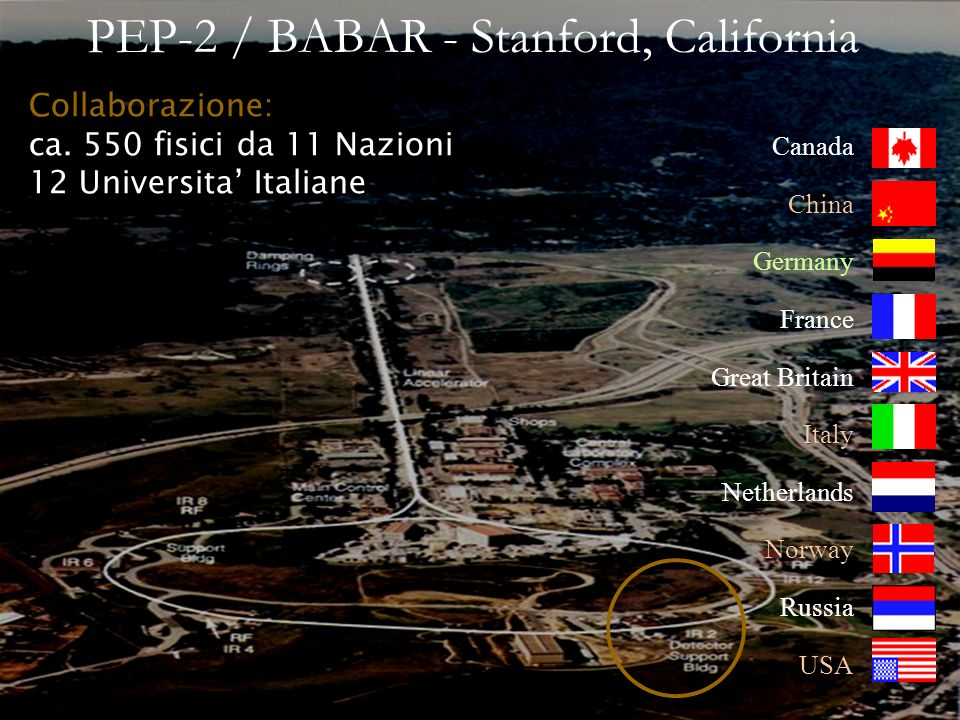 PEP-2 / BABAR - Stanford, California