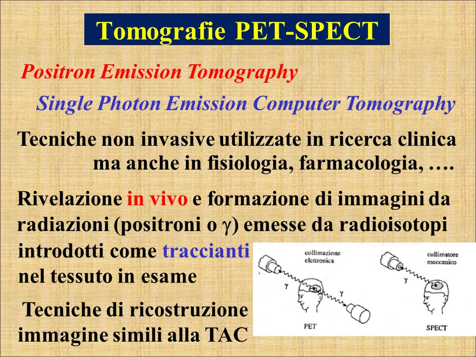 Tomografie PET-SPECT Positron Emission Tomography