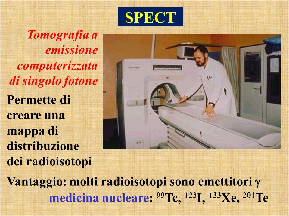 SPECT Tomografia a emissione computerizzata di singolo fotone