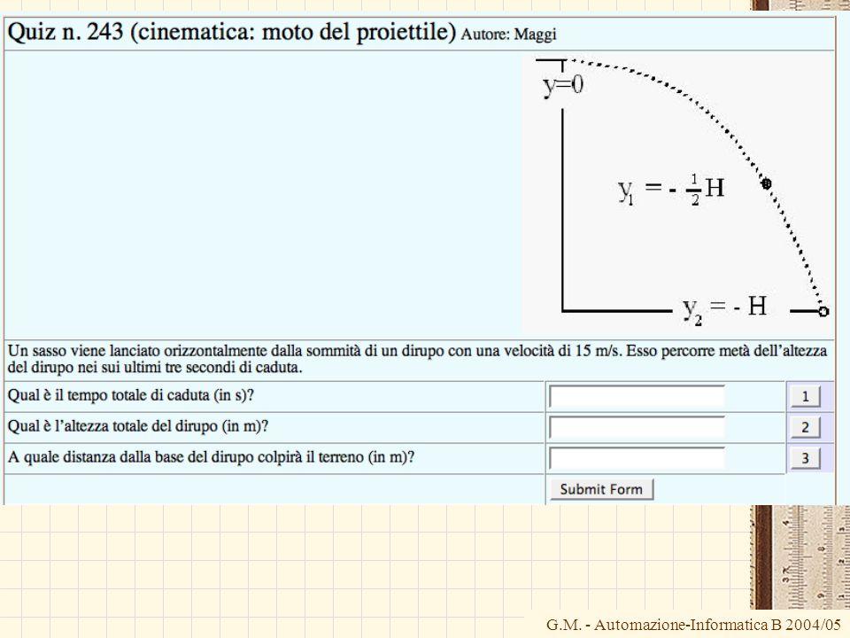G.M. - Automazione-Informatica B 2004/05