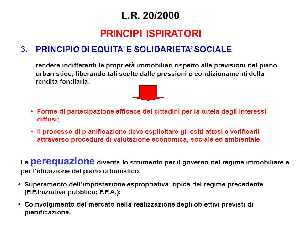 L.R. 20/2000 PRINCIPI ISPIRATORI