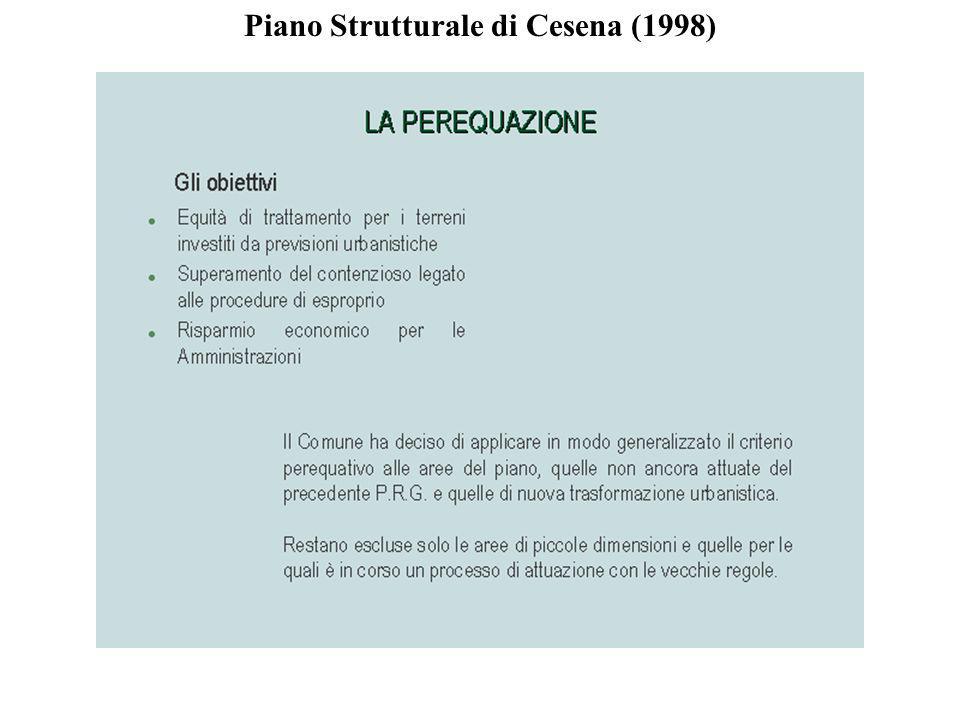 Piano Strutturale di Cesena (1998)