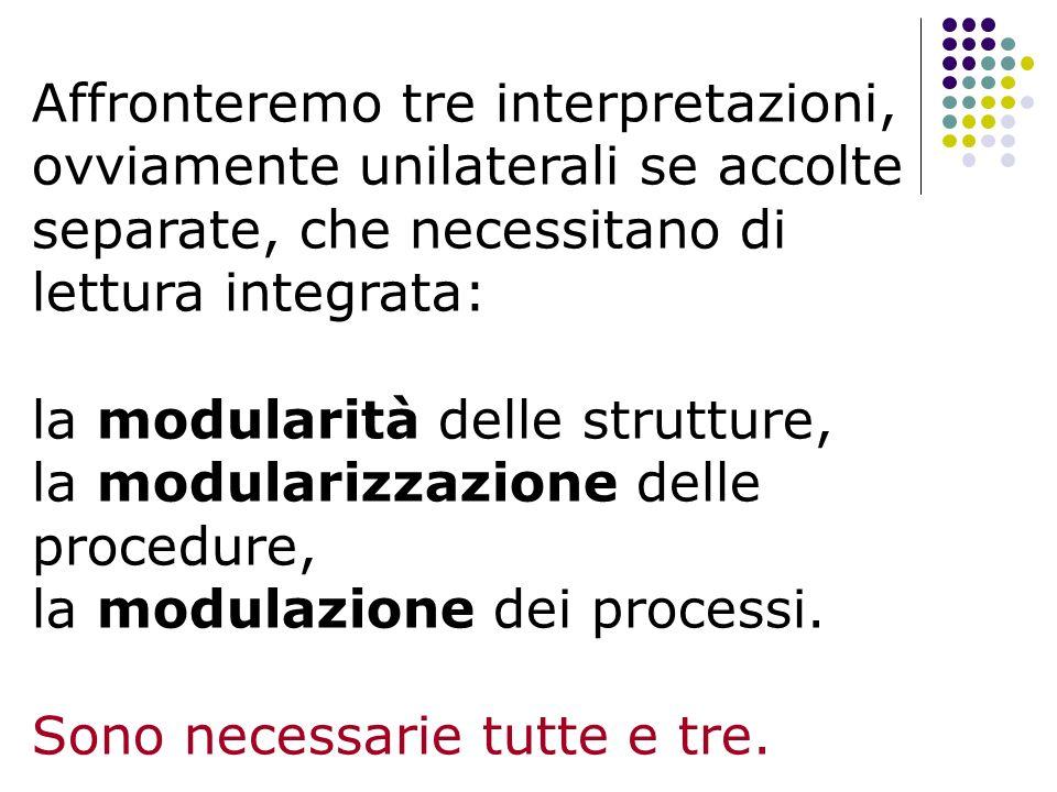 Affronteremo tre interpretazioni, ovviamente unilaterali se accolte separate, che necessitano di lettura integrata:
