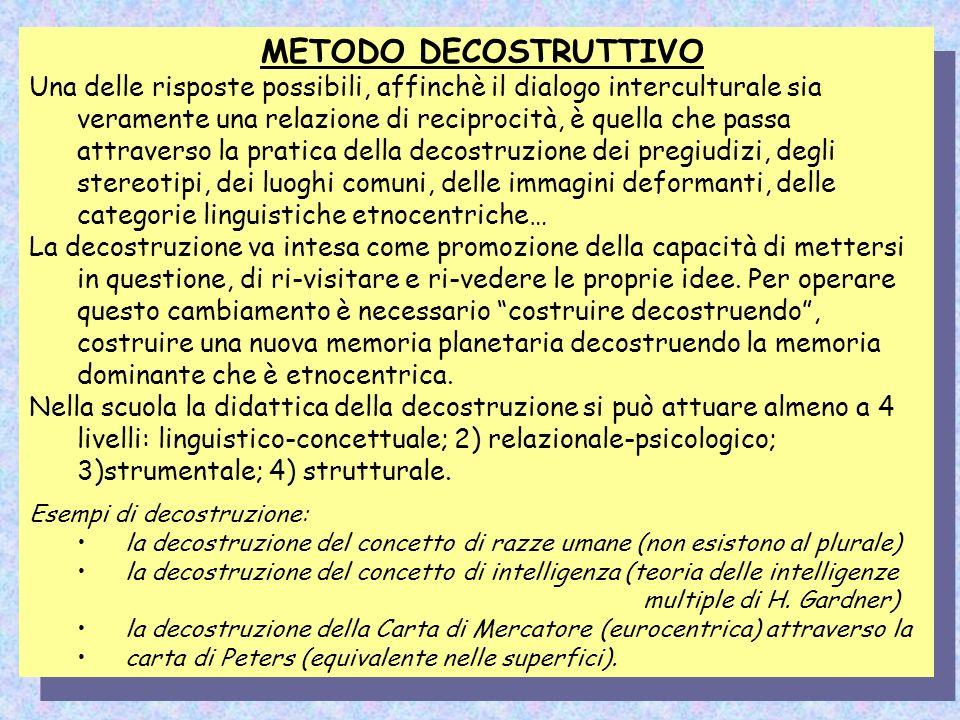 METODO DECOSTRUTTIVO