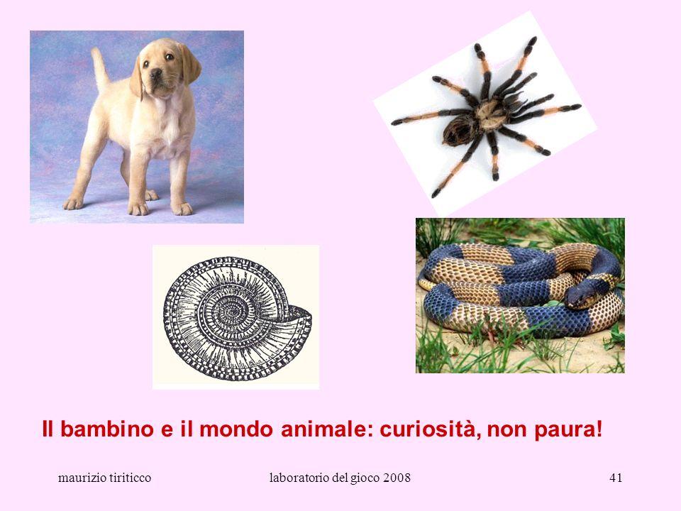 Il bambino e il mondo animale: curiosità, non paura!