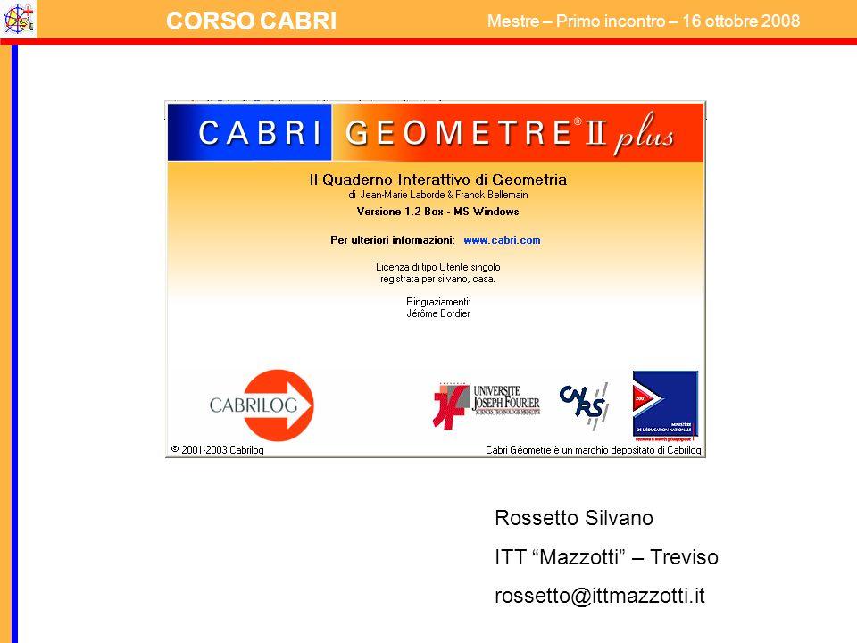 Rossetto Silvano ITT Mazzotti – Treviso rossetto@ittmazzotti.it