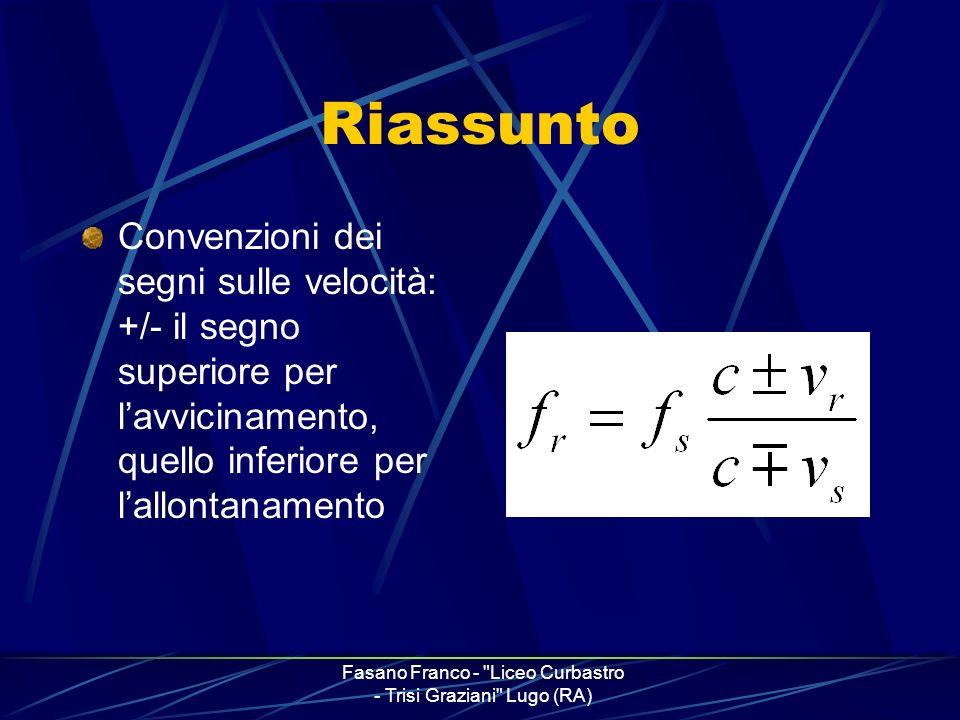 Fasano Franco - Liceo Curbastro - Trisi Graziani Lugo (RA)