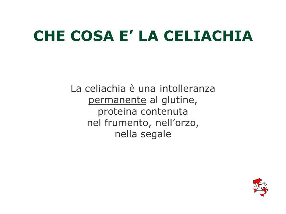 CHE COSA E' LA CELIACHIA