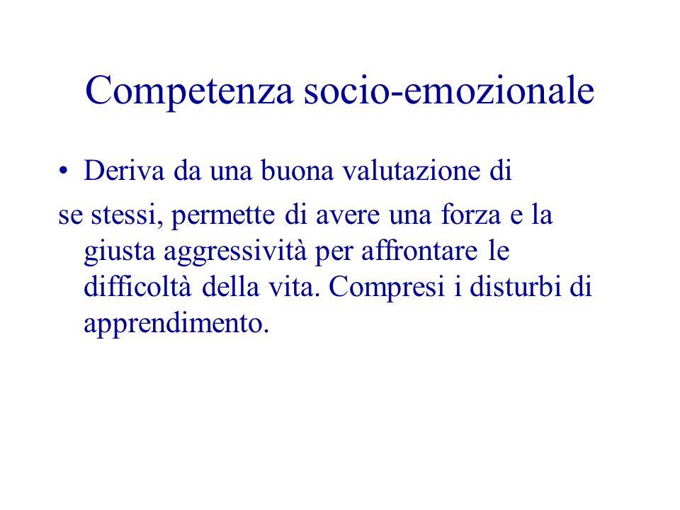 Competenza socio-emozionale