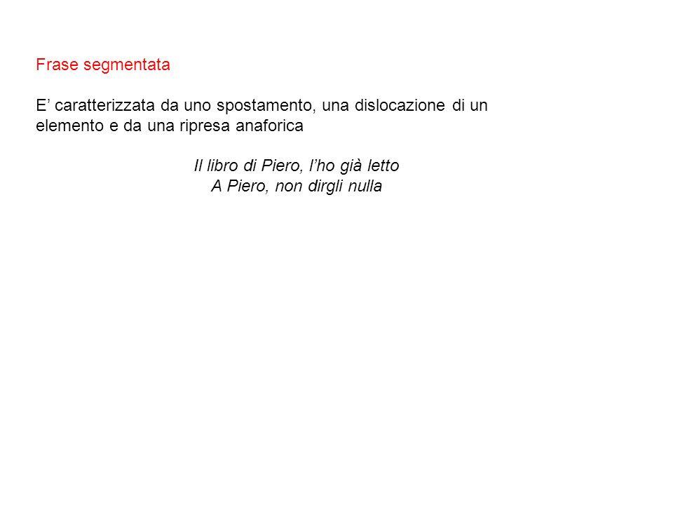 Il libro di Piero, l'ho già letto A Piero, non dirgli nulla