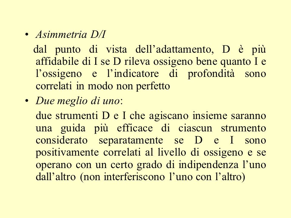 Asimmetria D/I