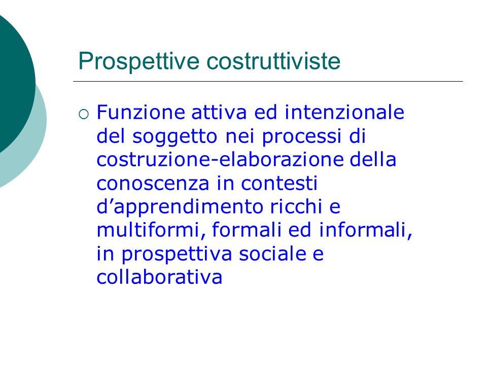 Prospettive costruttiviste