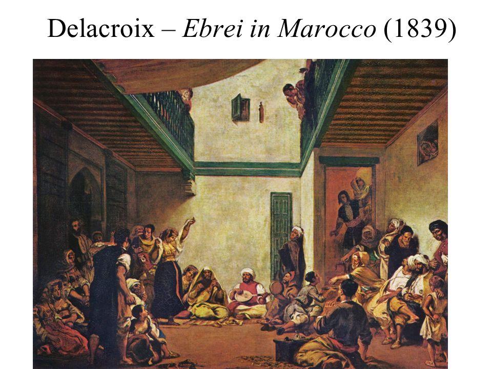 Delacroix – Ebrei in Marocco (1839)