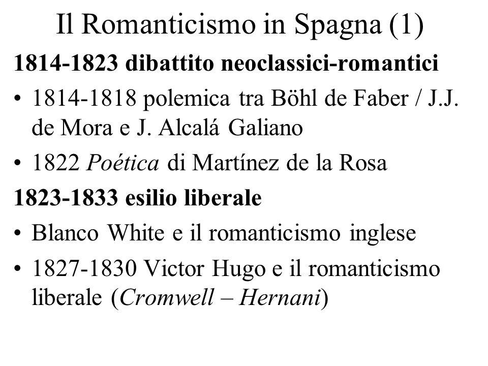Il Romanticismo in Spagna (1)