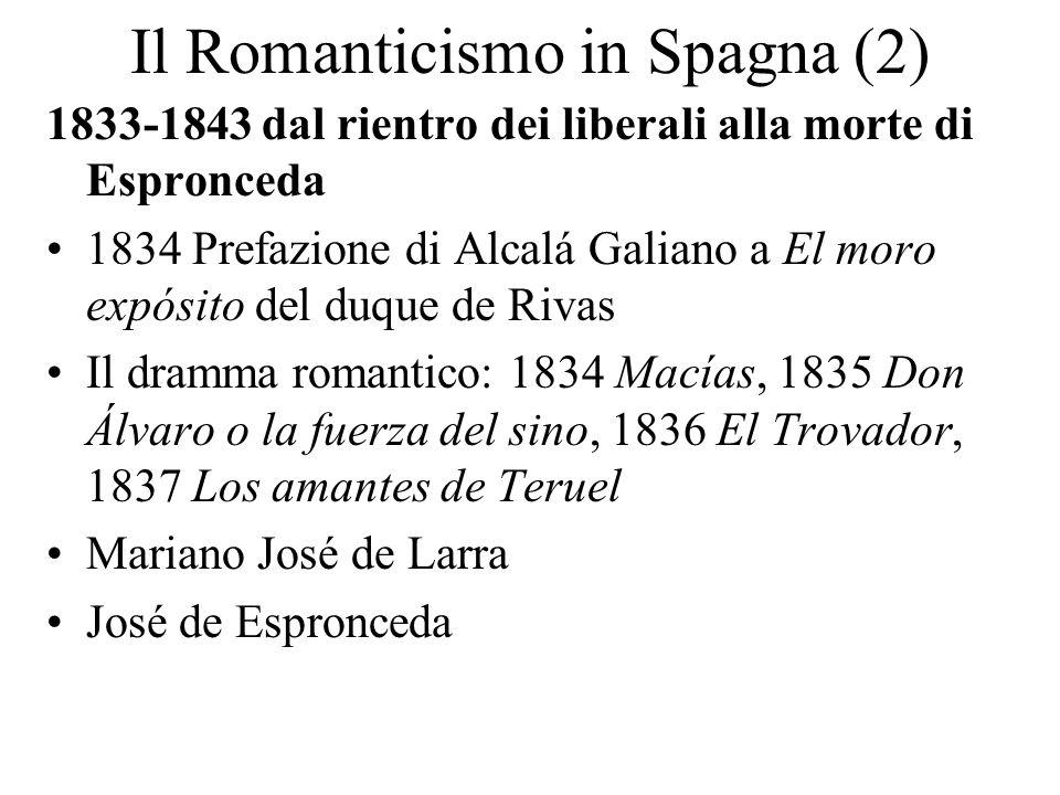 Il Romanticismo in Spagna (2)
