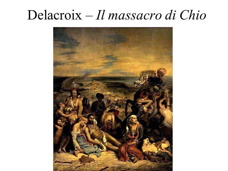 Delacroix – Il massacro di Chio