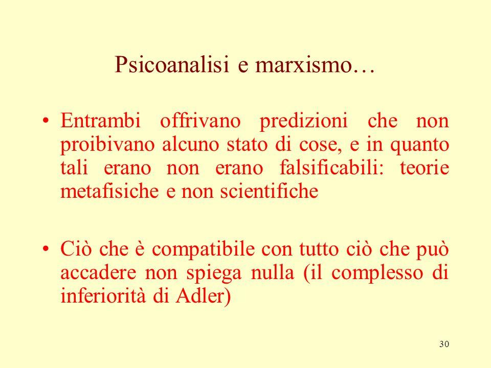 Psicoanalisi e marxismo…