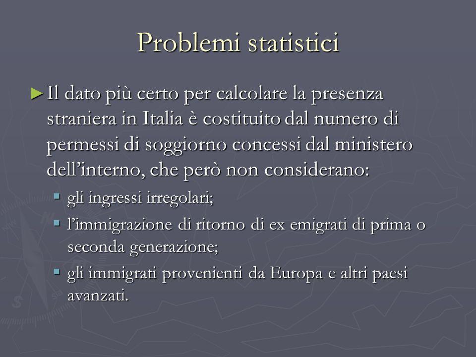 Problemi statistici