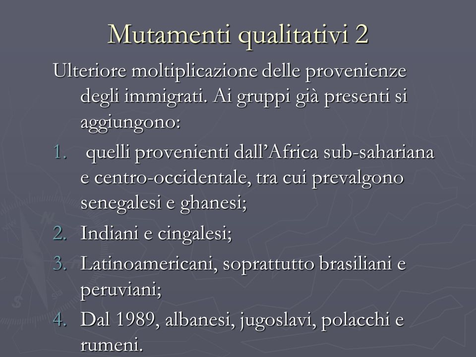 Mutamenti qualitativi 2