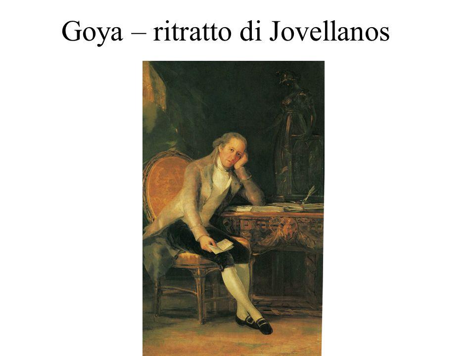 Goya – ritratto di Jovellanos