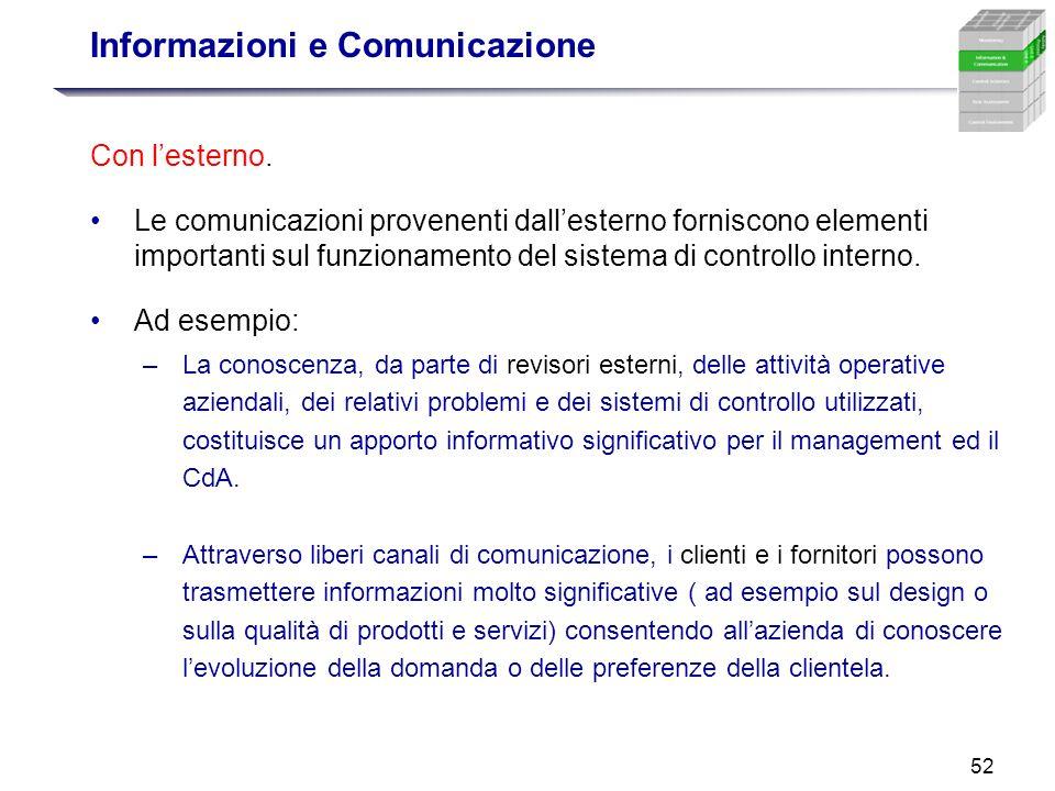 Informazioni e Comunicazione