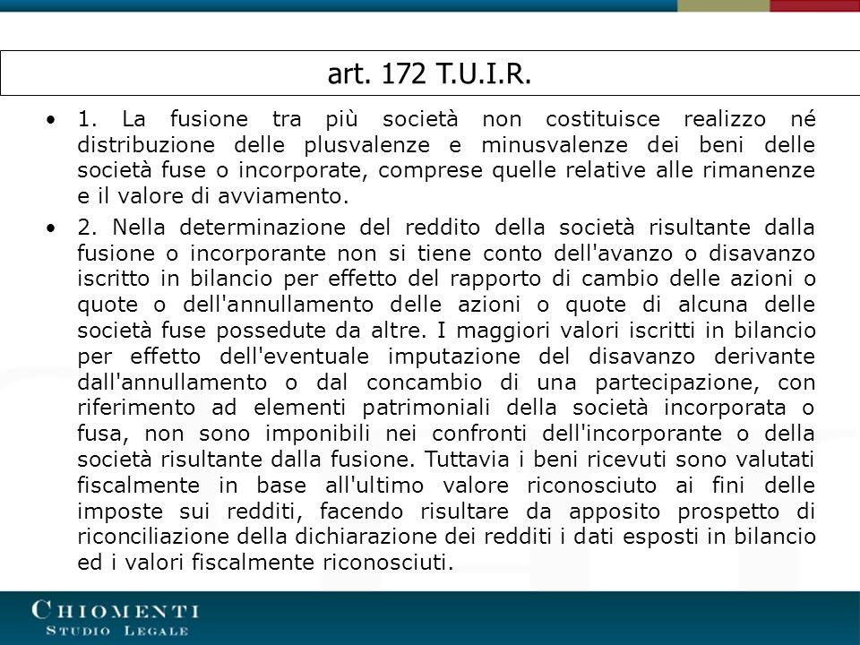 art. 172 T.U.I.R.