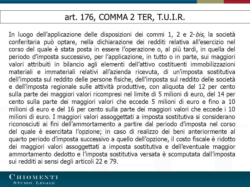 art. 176, COMMA 2 TER, T.U.I.R.