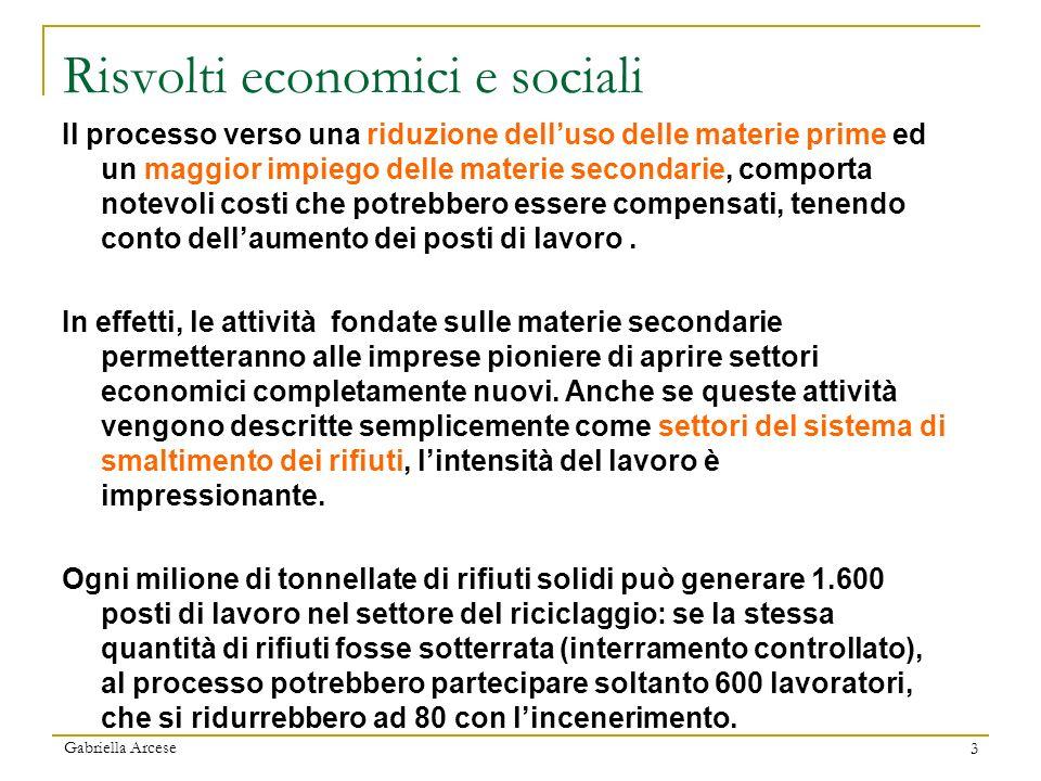Risvolti economici e sociali