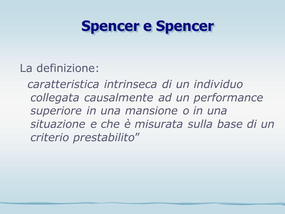 Spencer e Spencer La definizione: