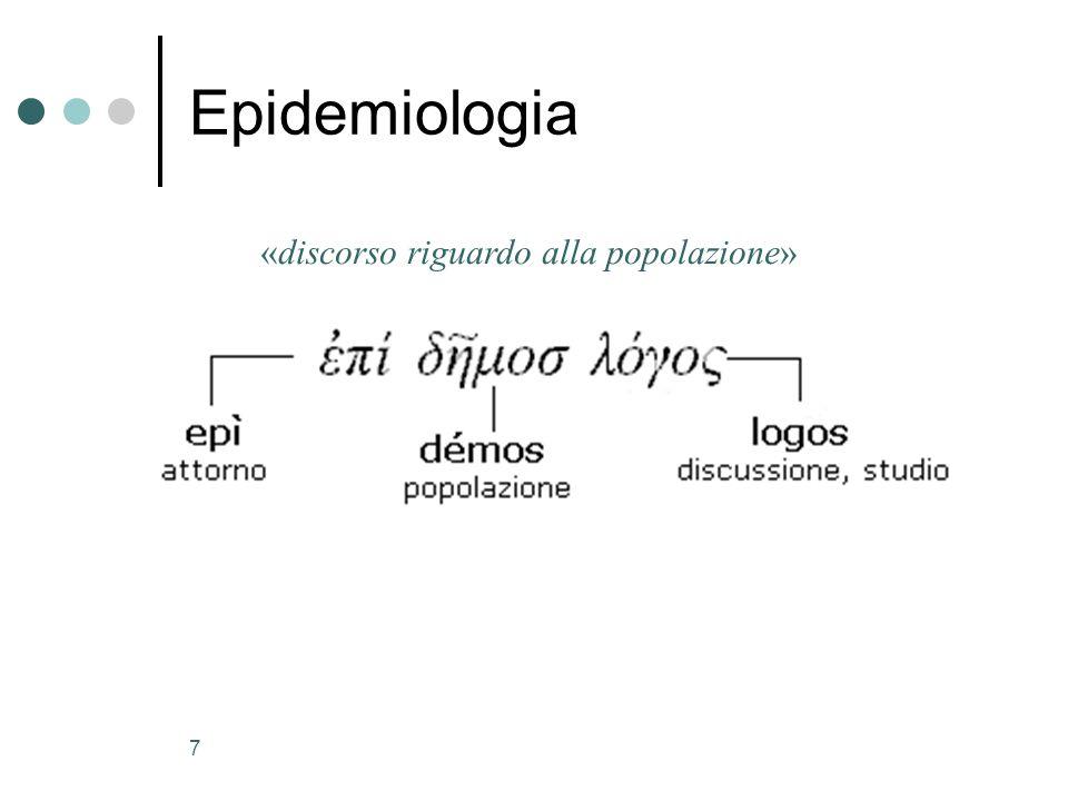 «discorso riguardo alla popolazione»