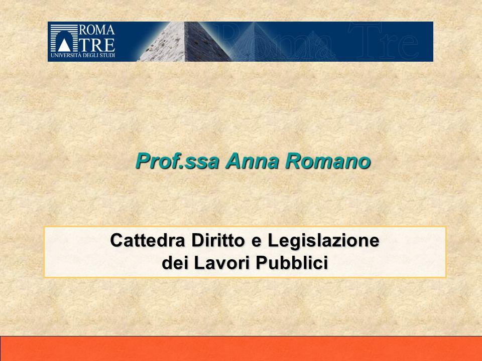 Cattedra Diritto e Legislazione