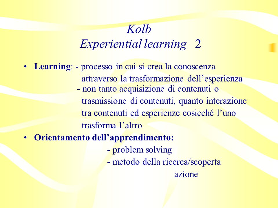 Kolb Experiential learning 2