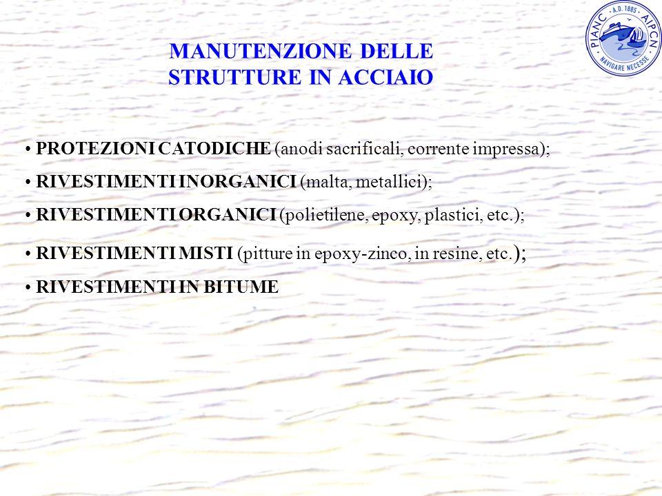 MANUTENZIONE DELLE STRUTTURE IN ACCIAIO