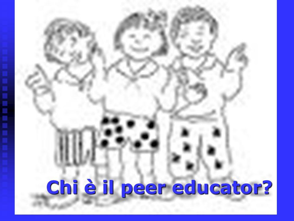 Chi è il peer educator