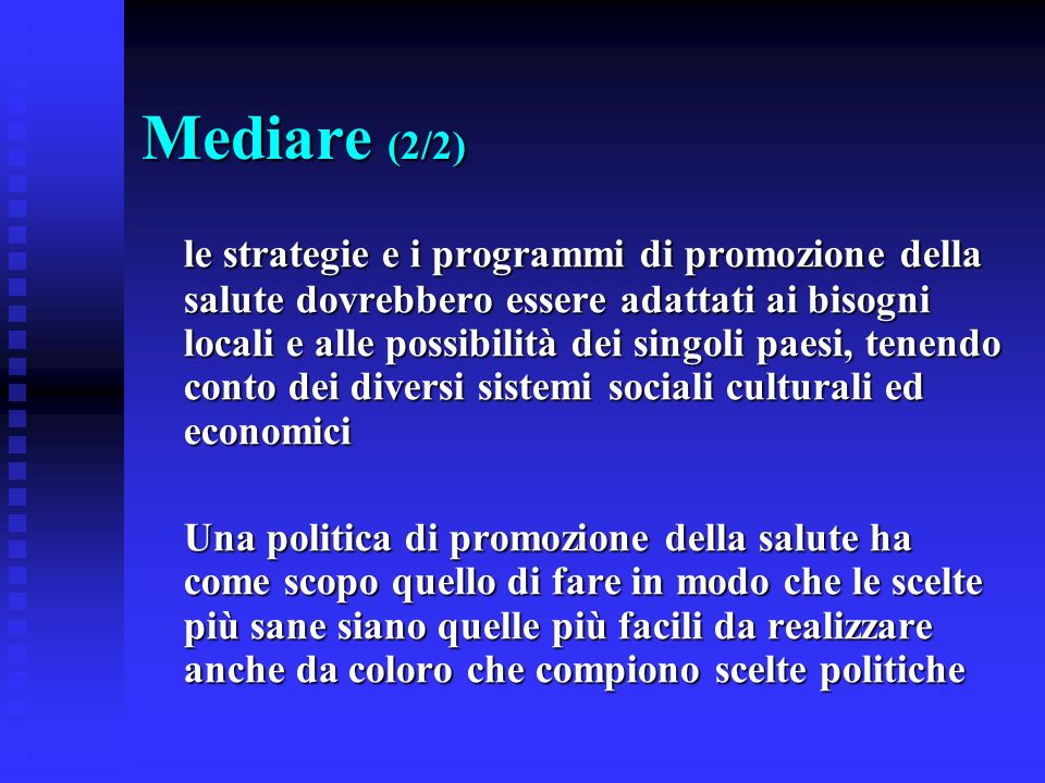 Mediare (2/2)